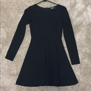 Lulus black skater dress
